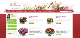 KWIACIARNIA INTERNETOWA Florist24.pl